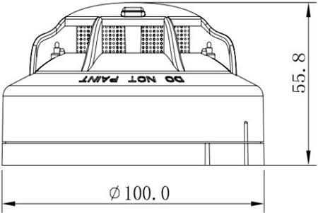 JTFB-GOF-TX6122点型复合式感烟感温火灾探测器
